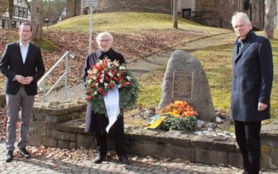 SPD Hilchenbach gedenkt den Opfern der NS-Zeit