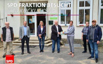 SPD-Fraktion besuchte Kita Kuckucksnest