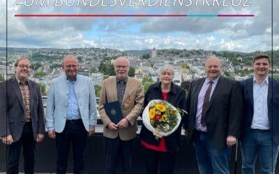 Klaus Stötzel mit Bundesverdienstkreuz geehrt